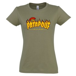 Femme Shirt Tee Tee Shirt Patapouf Thrasher qUMVpGSz