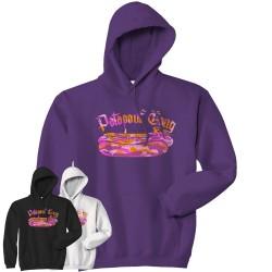 Sweat-capuche Logo Pink Camo